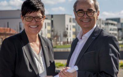 Staffelholzübergabe bei CDU-Abgeordneten